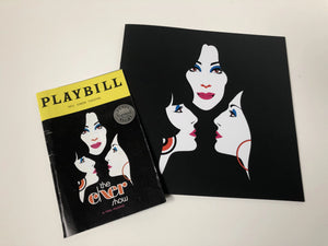 """The Cher Show"" Opening night playbill & Show Booklet"