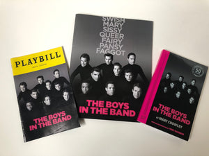 """Boys in the Band"" Original Broadway Cast Playbill, Show Booklet and Show Script"