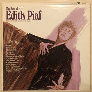 The best of Edith Piaf - Record