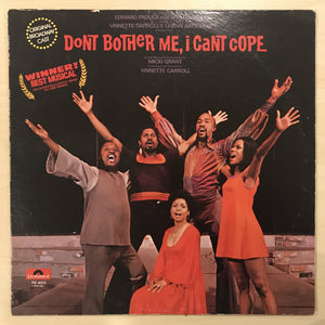 Don't Bother Me, I Can't Cope - Original Broadway Record