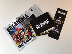"""Oklahoma"" Recipe/Review Booklet and New York Mag Article"