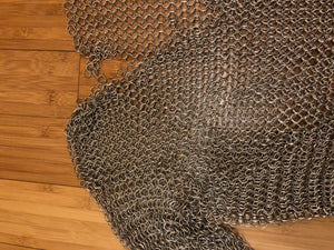 TABOO - Chainmail Shirt - worn by Raul Esparza as Phillip Sallon designed by Bobby Pearce