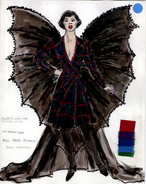 KISS OF THE SPIDER WOMAN - Chita Rivera as 'Aurora' Sketch by Florence Klotz
