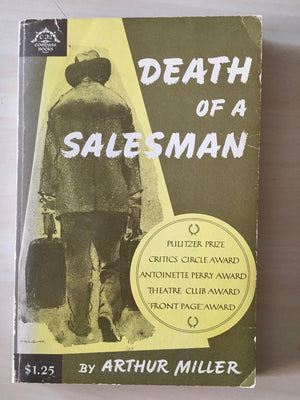 DEATH OF A SALESMAN - by Arthur Miller, Compass paperback