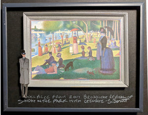 "SUNDAY IN THE PARK WITH GEORGE  ""La Grande Jatte""  Model Piece by Beowulf Boritt"