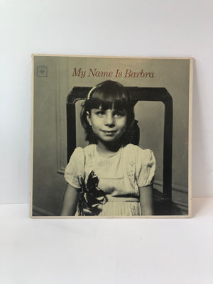 """My Name is Barbara"" Record by Barbara Streisand"