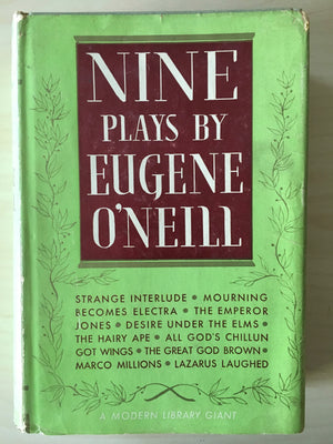 Nine Plays by Eugene O'Neill - Hard Cover Book