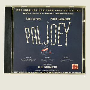 PAL JOEY - Original 1995 cast recording for ENCORES! CD