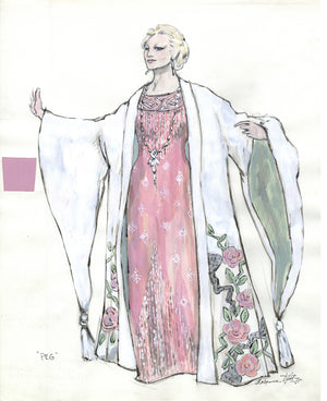PEGGY LEE - Pink Gown designed by FLORENCE KLOTZ