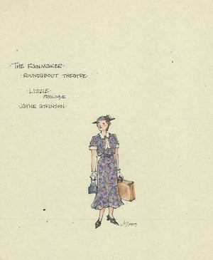 THE RAINMAKER - Jayne Atkinson as 'Lizzie' Prologue costume by Jess Goldstein