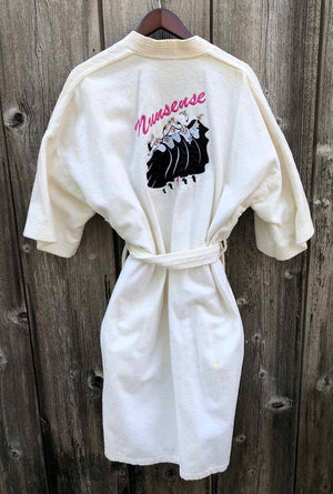 NUNSENSE - White Cotton Robe
