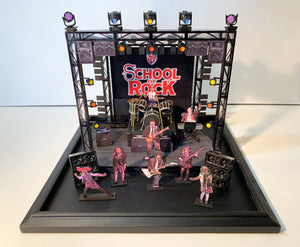"""School of Rock"" - Battle of the Bands Stage Model"