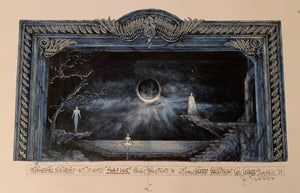 """Swan Lake"" Act Two Set Rendering by Eduardo Sicango"