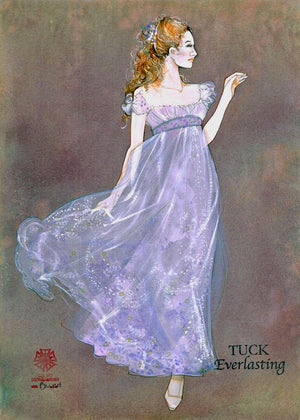 TUCK EVERLASTING -Female Forest Dancer Original Costume Sketch by Gregg Barnes