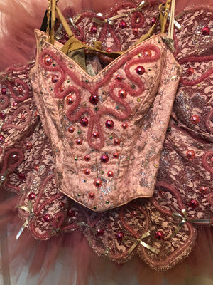 TABOO - Original Broadway Costume SARA URIARTY BERRY, TUTU AND HEADDRESS