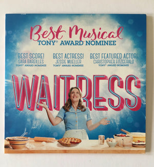 WAITRESS original Broadway Cast Selections CD recording