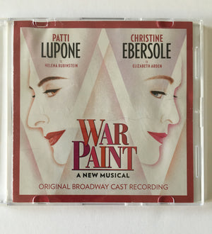 WAR PAINT - Original Cast Recording CD