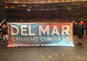 """Del Mar"" - Printed Vinyl Banner From Encores! Pipe Dream"