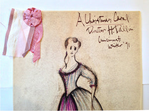 """A Christmas Carol"" Belle Costume Sketch, David Murin"