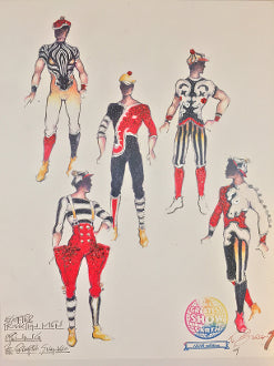 """ASSORTED MALE COSTUMES"" RINGLING BROS, BY EDUARDO SICANGCO"