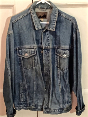 """1776"" Denim Show Jacket, Broadway Production, 1998"