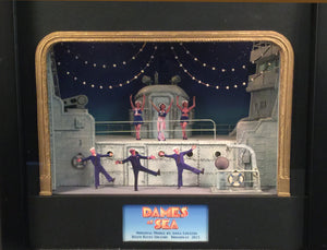 """Dames At Sea "" Ship Set Original Broadway Model By Anna Louizos"