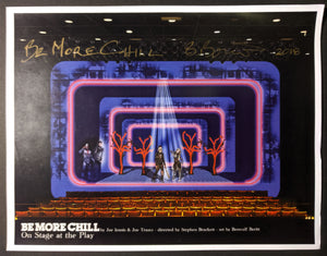 "Be More Chill - Set Rendering ""Backstage at Midsummer Nights Dream"""