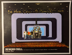 "Be More Chill -Set Rendering ""School Bus"""