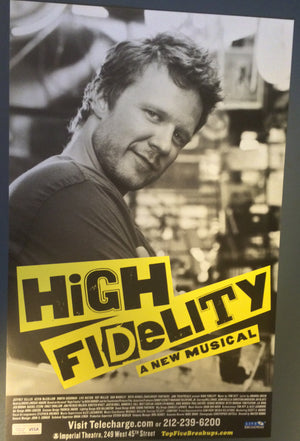 """High Fidelity"" Marquee Poster"