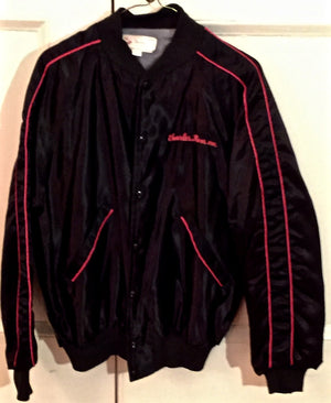 """Deathtrap"" Show Jacket, Black Satin"