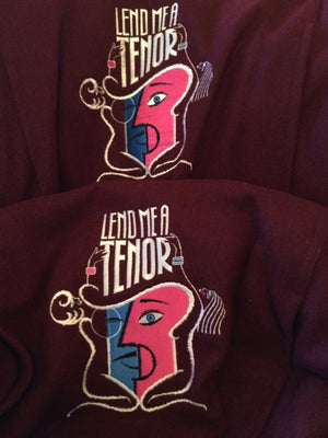 """Lend Me A Tenor"" Pair Of Show Jackets From Tony And Gen Walton"