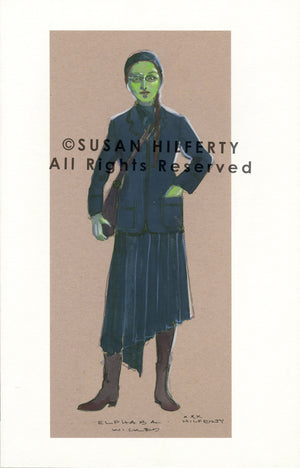 "Wicked ""Elphaba"" School Uniform Design By Susan Hilferty"
