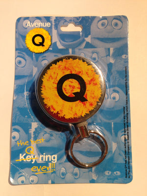 """Avenue Q"" Retractable Key Chain"