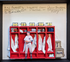 "PRINCE OF BROADWAY, ""Damn Yankees"" Model Lockers by Beowulf Boritt"