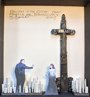 "PRINCE OF BROADWAY ""Phantom of the Opera"" reimagined set model by Beowulf Boritt"