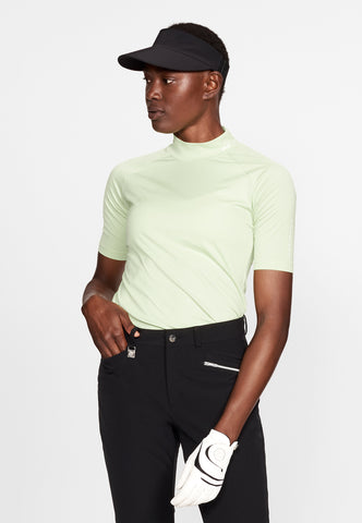 ROHNISCH Addison Short Sleeve Top Lime
