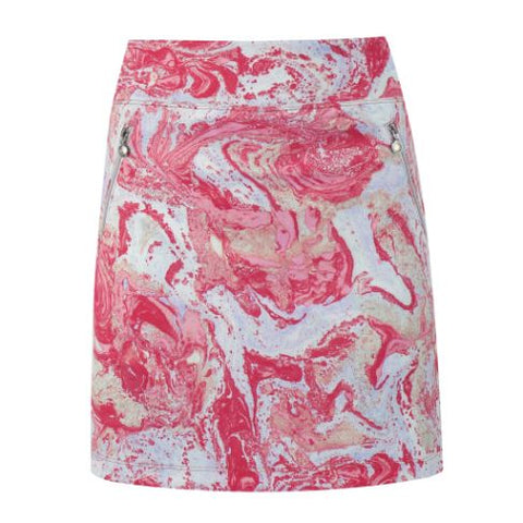 DAILY SPORTS Adelina Skort 209 Long 50cm Fruit Punch