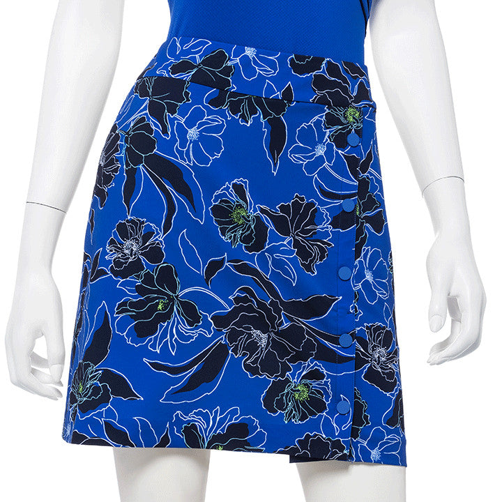 EP NEW YORK Tech Stetch Skort 1711 Blue Lagoon