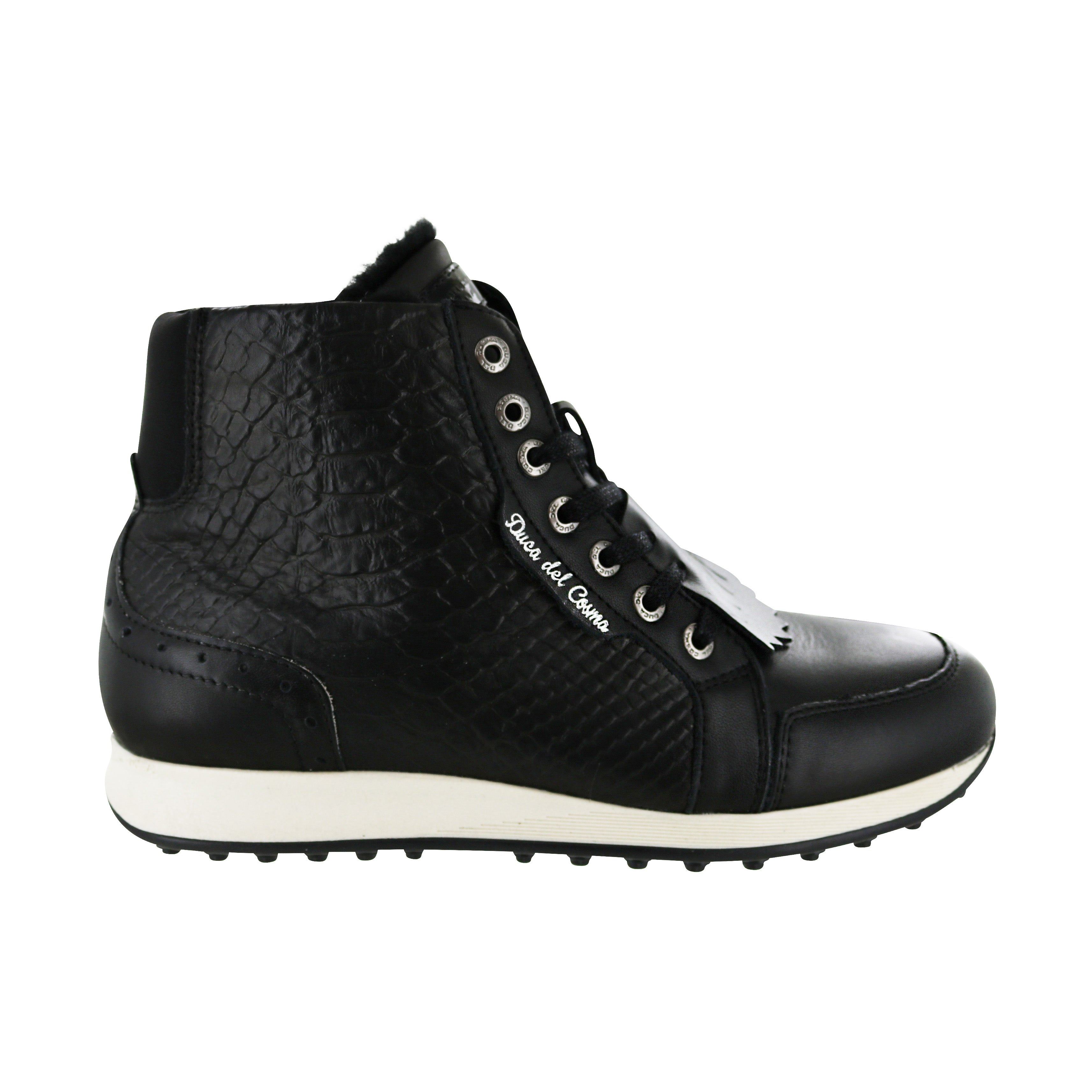 DUCA DEL COSMA Paloma Golf Boot Black
