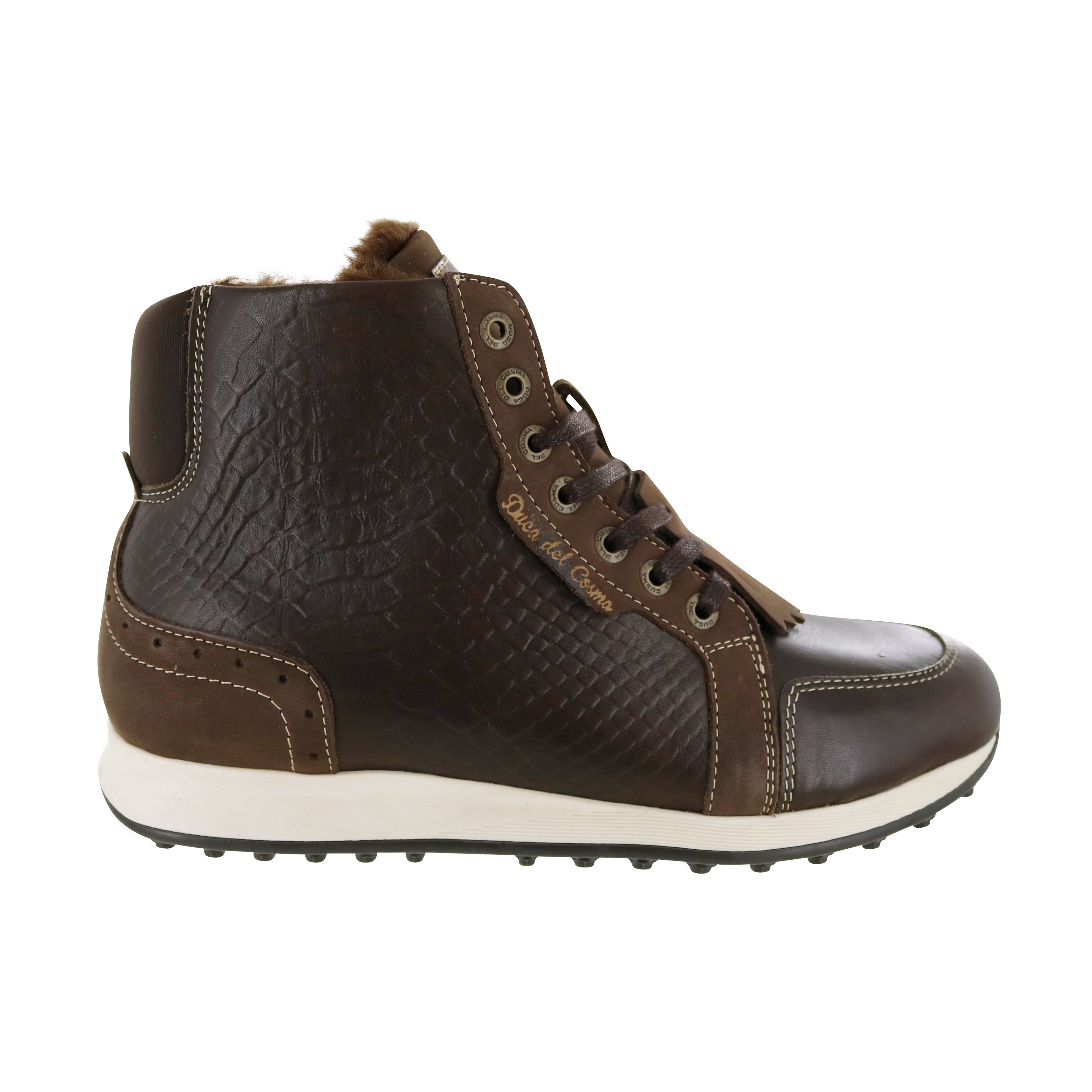 DUCA DEL COSMA Paloma Golf Boot Brown