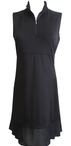 EP NEW YORK Pleat Dress 0101 Black