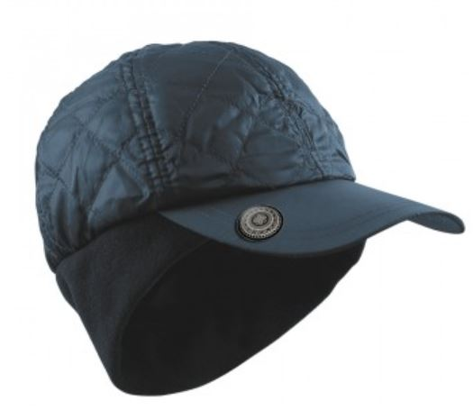 SURPRIZE SHOP Quilted Winter Wind Cap Navy