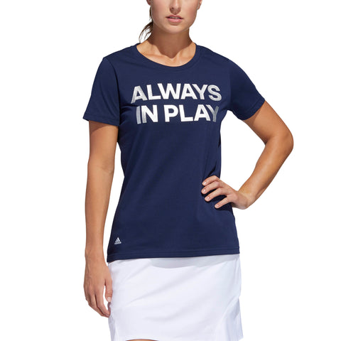 ADIDAS Always In Play T-shirt 5797 Indigo Night