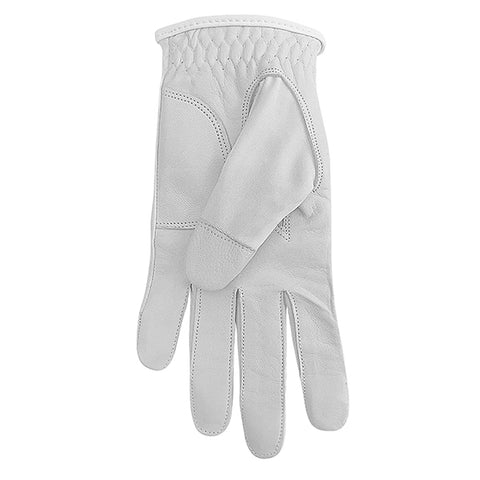 SURPRIZE SHOP Leather Palm Glove Grey Feather