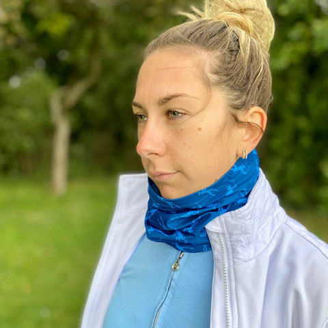 Stretch Snood / Face Covering Navy