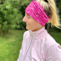 Stretch Snood / Face Covering Pink