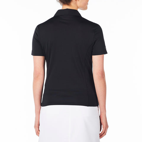 NIVO Short Sleeve Black Polo 100