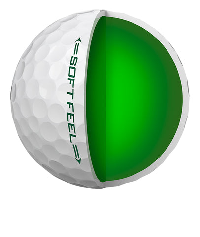 SRIXON Soft Feel 12 Golf Balls White