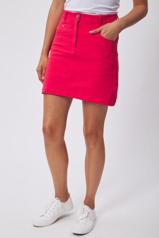 GREEN LAMB Mel Spot Skort Long 823 Red