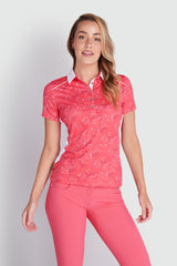 GREEN LAMB Ember Printed Polo 863 Diamonds